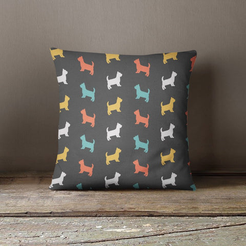 Yorkshire Terrier Color Series Pillow