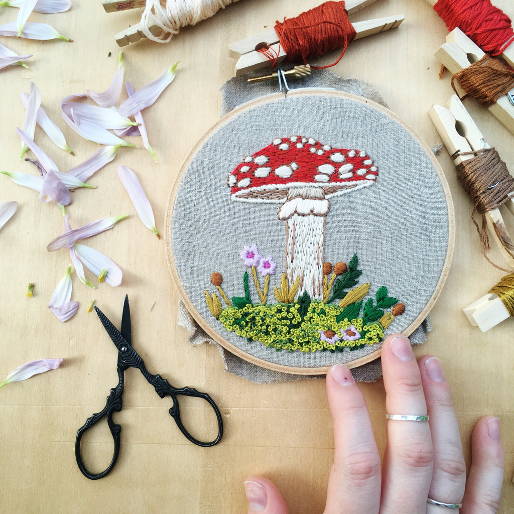 JUNE #STITCHVENTURE PATTERN OF THE MONTH // DANI IVES