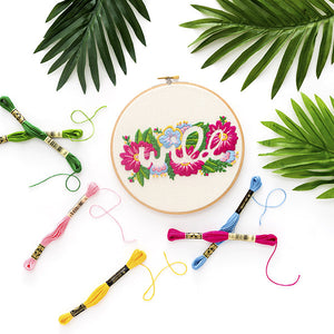Introducing: Floral Embroidery Online Class with Brit + Co