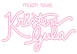 kristen gula gulush threads signature