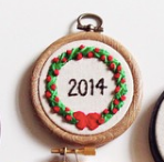 Embroidered Ornament Workshop with Wellspent Brewing Co :: 12/20