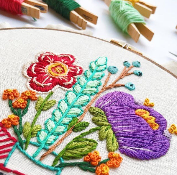 Mother's Love Hand Embroidery Kit
