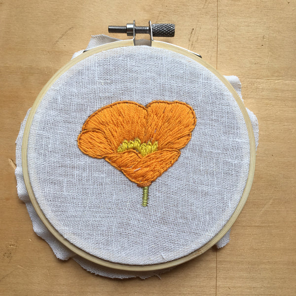 #181 of 200, California Poppy