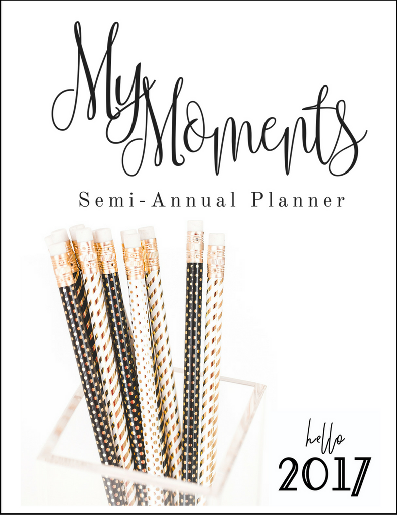 My Moments Semi-Annual Planner