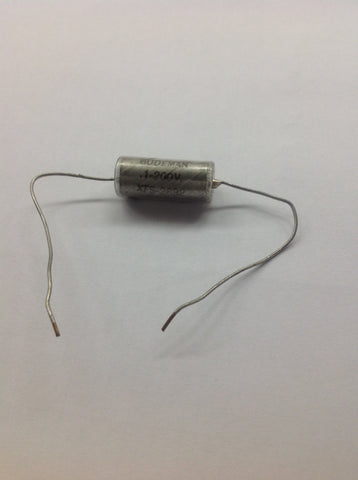 1 - New Old Stock .1uf 200v Gudeman Paper In Oil Bass or Guitar Tone Capacitor