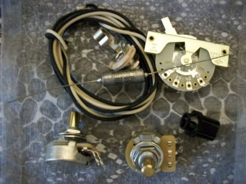 Custom Spec Wiring Kit for Telecaster CTS CRL Switchcraft .022 Gudeman USA PIO