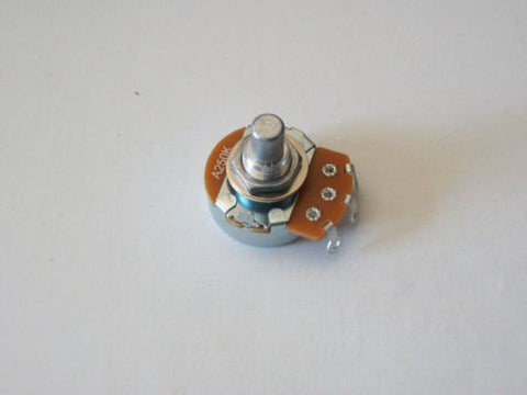 Single Alpha 250K Audio Taper Pots Solid Shaft US Spec Bass / Guitar Potentiometers