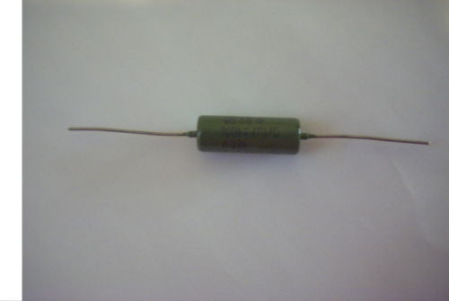 1x .1uf 160v Soviet Paper In Oil Guitar or Bass Upgrade Capacitor Russian K42Y