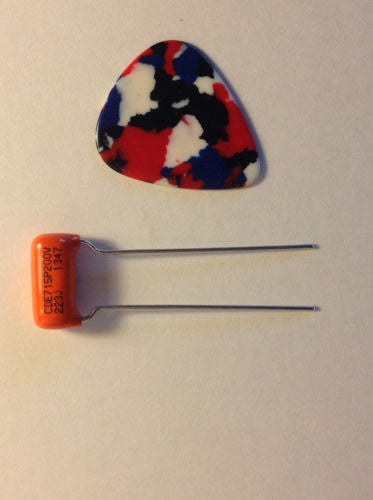 ORANGE DROP 715P Polypropylene Guitar Tone Capacitors