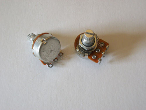 2 Mini 500K Linear Taper Metric Import Guitar Potentiometer 16mm Volume Tone