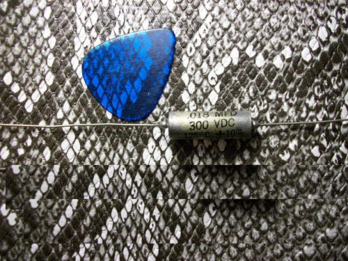 1 NOS .018 300v C-D Paper In Oil Guitar Tone Upgrade Capacitor Great Neck Cap