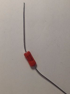 1 x .015uf 200v Sprague 192P ORANGE PACER Guitar Tone Capacitor New Old Stock