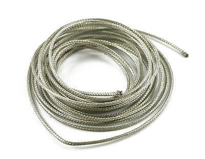 12 Feet Braided Shielded 22ga Stranded Gavitt Cloth / Braided Shield Guitar Wire