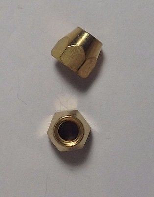 2 Pack USA Spec Brass Truss Rod Nut For Gibson Made In USA OEM Part Made in USA