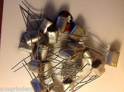 10 x  New Old Stock  0.33uf 75v ITW Wound Polyester Film Foil Capacitors +/- 10%