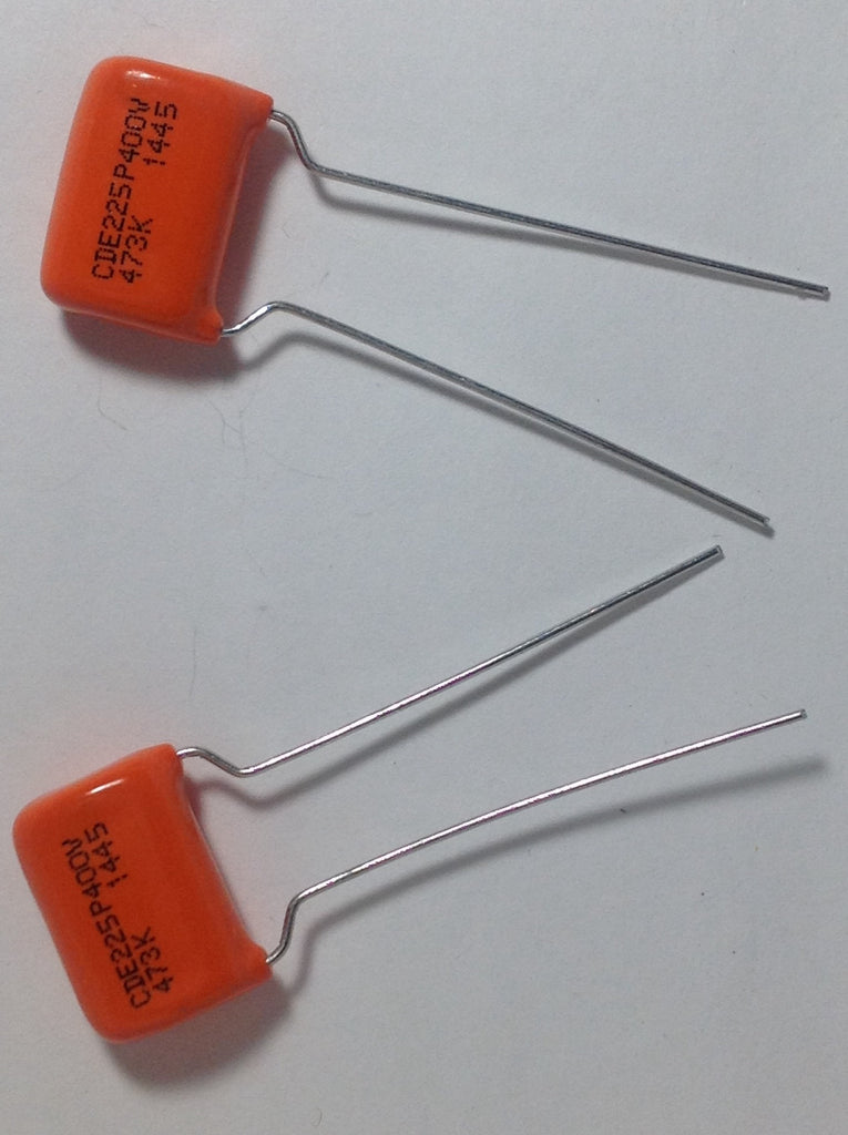 1 Pair .047uf 400v 225P ORANGE DROP Guitar Tone Capacitors