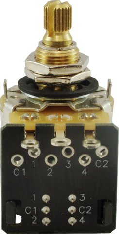 "CTS 3/8"" Bushing Push Pull Potentiometers"