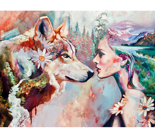 Original Animal Painting by Dimitra Milan Art