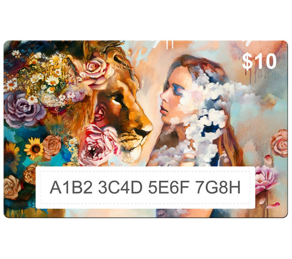 Heaven's Kiss by Dimitra Milan - Gift Card $10