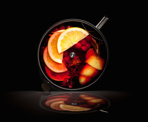 Cranberry Cocktail in the Porthole Infuser