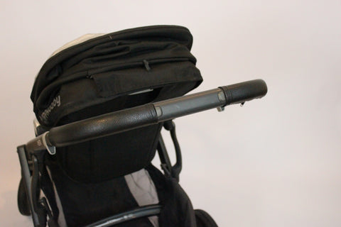 Black Handlebar Covers