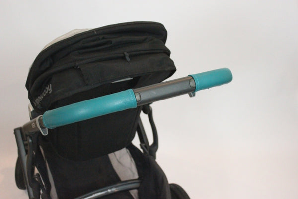 Dark Turquoise Handlebar Covers Lux And Leather
