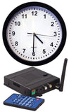 Wall Clock Hidden Camera, Wireless 4 Cam DVR + 4GB SD Card Spy Nanny Cam