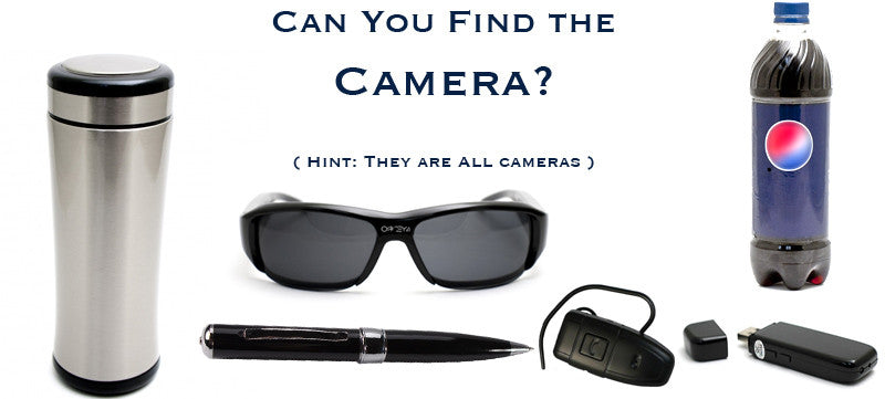 Wear a hidden camera