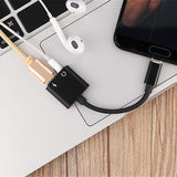 Type C Adapter Aux Earphone adapter Usb c to 3.5mm Headphone Jack Adapter For Xiaomi Mi 6 Huawei Type-c devices without 3.5 jack