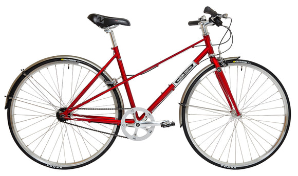 MILAN 3 Speed MIXTE - RED