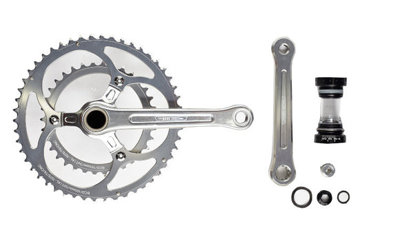 CHARGER DOUBLE CHAINRING CRANKSET