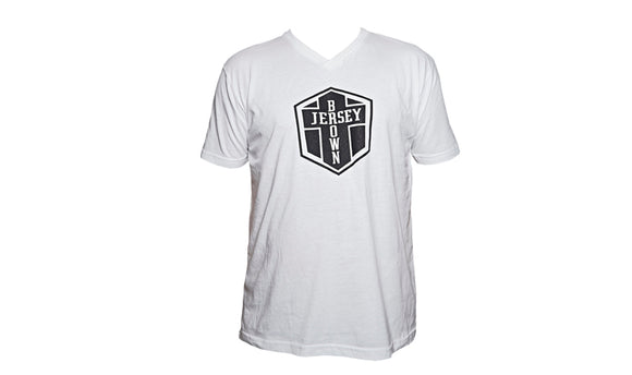 BJ LOGO T-SHIRT MENS - WHITE