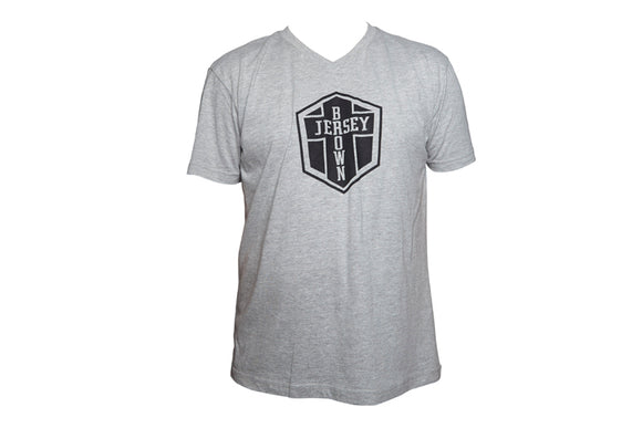 BJ LOGO T-SHIRT MENS - GREY