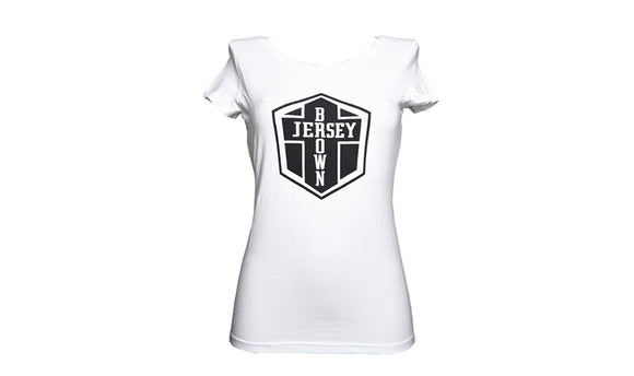 BJ LOGO T-SHIRT WOMANS - WHITE