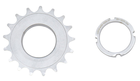 17T CP STEEL TRACK COG & LOCK RING