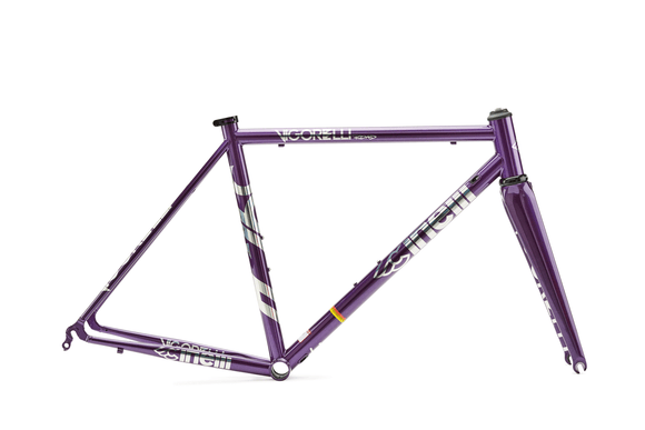 VIGORELLI ROAD FRAME & FORK 2019 - PURPLE HEART