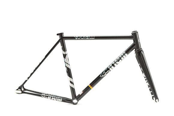 VIGORELLI TRACK STEEL FRAME SET 2019 - BLACK NIGHT