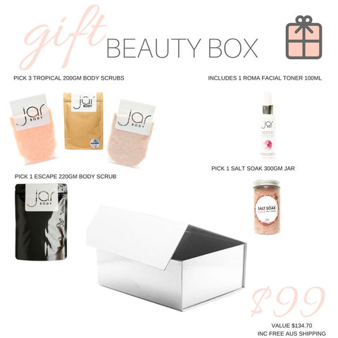 JAR BODY BEAUTY GIFT BOX