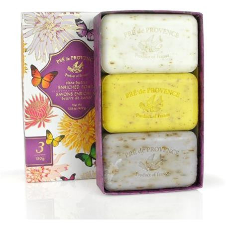 Pre de Provence Butterfly Soap Gift Box