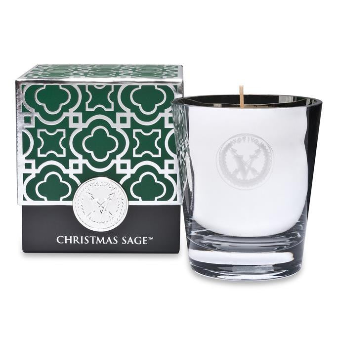 Votivo Holiday Christmas Sage Aromatic Candle