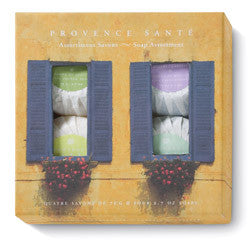 Provence Santé Blue Shutters 4 Bar Gift Soap Assortment