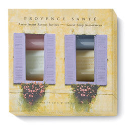Provence Santé Lavender Shutters 6 Bar Guest Soap Assortment
