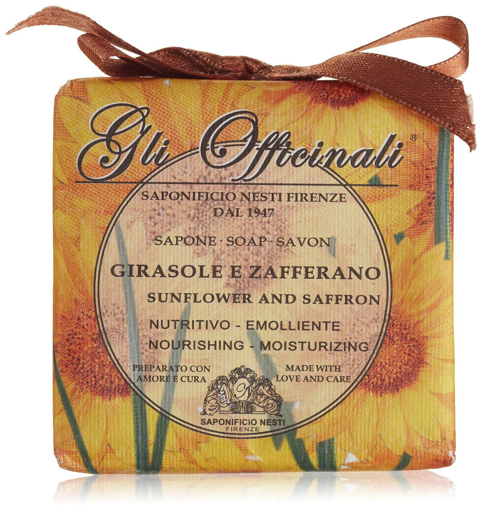 Nesti Dante Gli Officinali Sunflower and Saffron Soap