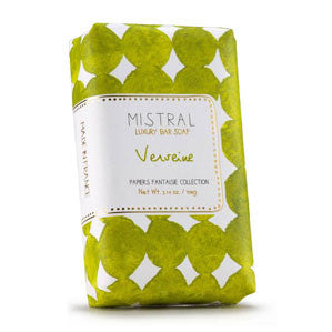 Mistral Papiers Fantaisie Verveine (Verbena) French Bath Soap