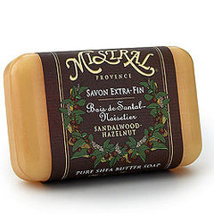 Mistral Sandalwood Hazelnut French Soap