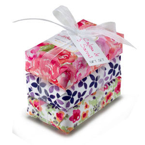 Mistral Classic Papiers Fantaisie French Three Soap Gift Set