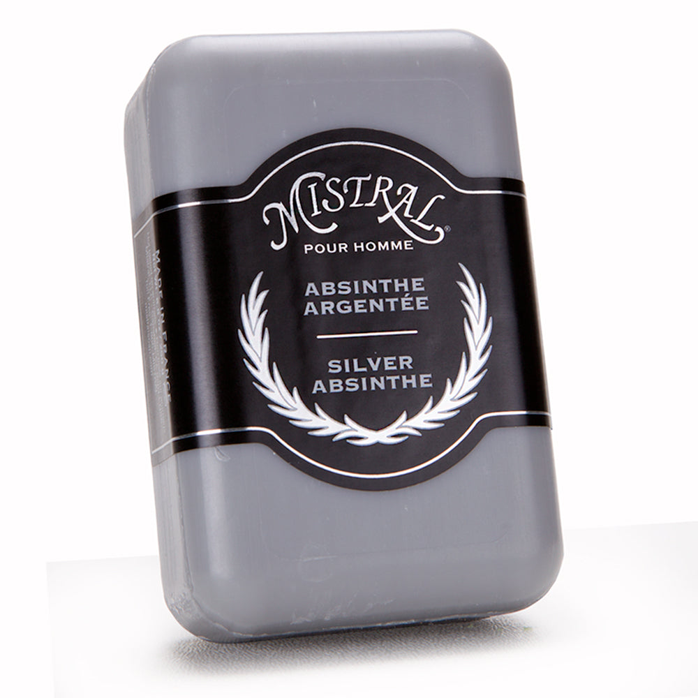 Mistral Silver Absinthe French Soap