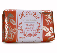 Mistral Edition Bohème Citrus Orchid French Bar Soap