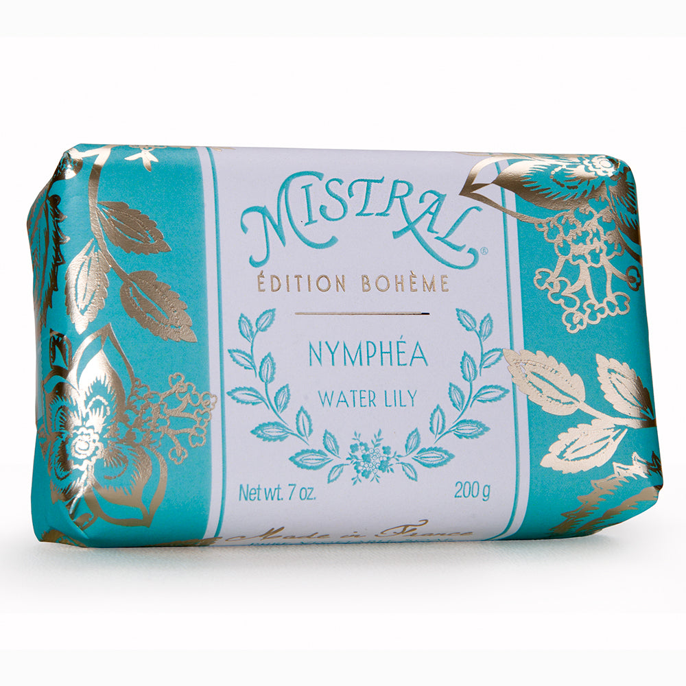 Mistral Edition Bohème Water Lily French Bar Soap