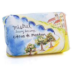 Mistral Provence Road Trip Menton Citrus French Soap